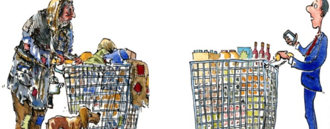 életszínvonal életstílus pénz szegény gazdag különbség
